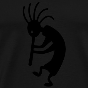 kokopelli Hoodies - Men's Premium T-Shirt