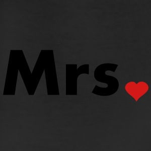 Mrs with heart dot - part of Mr and Mrs set Bags  - Leggings