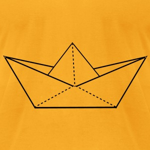 paper boat Bags  - Men's T-Shirt by American Apparel
