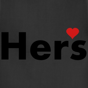 Hers - part of his and hers set Women's T-Shirts - Adjustable Apron
