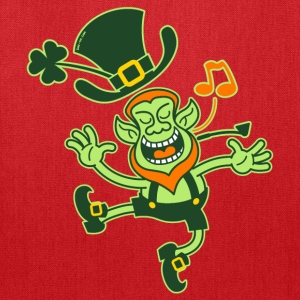 Leprechaun Dancing and Singing Women's T-Shirts - Tote Bag