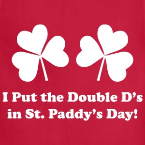 Double D's St. Paddy's Day - Adjustable Apron
