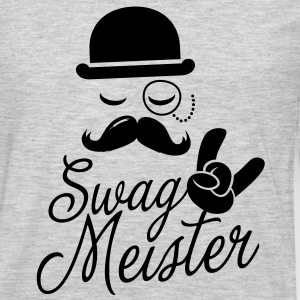 Like a swag style i love swag meister boss meme T-Shirts - Men's Premium Long Sleeve T-Shirt