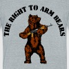 The right to arm bears - Unisex Tri-Blend T-Shirt by American Apparel