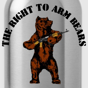 The right to arm bears - Water Bottle
