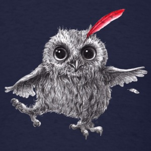Chief Red - Happy Owl - Men's T-Shirt