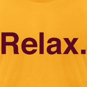 relax Bags  - Men's T-Shirt by American Apparel