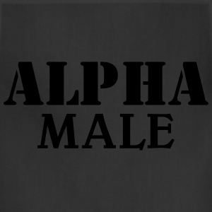Alpha Male T-Shirts - Adjustable Apron