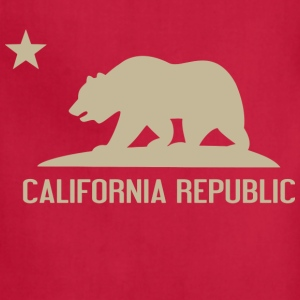 Men's California Republic Hoodie - Adjustable Apron