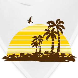 sunset island Hoodies - Bandana