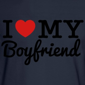 I Love My Boyfriend - Men's Long Sleeve T-Shirt