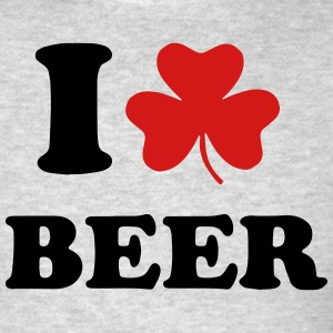 I LOVE BEER Long Sleeve Shirts - Men's T-Shirt