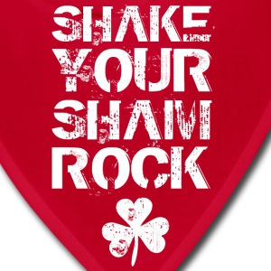 SHAKE YOUR SHAMROCK Women's T-Shirts - Bandana