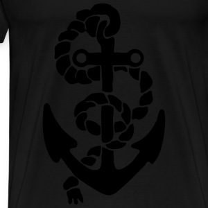 anchor Long Sleeve Shirts - Men's Premium T-Shirt