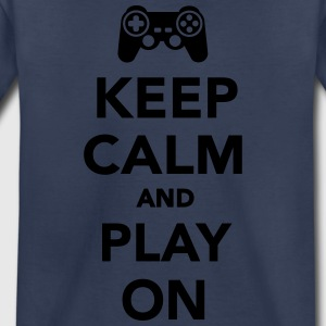 Keep calm and play on Kids' Shirts - Toddler Premium T-Shirt