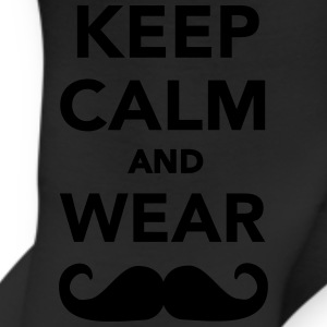 Keep calm and wear Mustache Kids' Shirts - Leggings