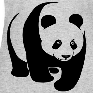 panda teddy bear face cute animal save Women's T-Shirts - Women's Long Sleeve Jersey T-Shirt