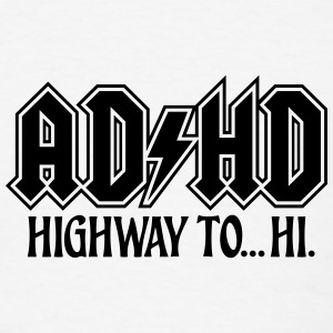 ADHD Highway to Hi Rock Music Logo iPhone 5 Case - Men's T-Shirt
