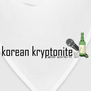 korean kryptonite Women's T-Shirts - Bandana