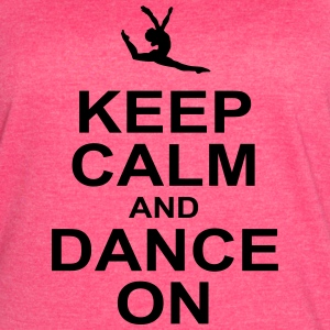 keeep calm and dance on Tanks - Women's Vintage Sport T-Shirt