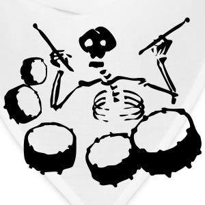 Skeleton Band T-Shirts - Bandana