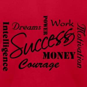 Success Long Sleeve Shirts - Men's T-Shirt by American Apparel
