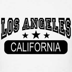 los angeles california Long Sleeve Shirts - Men's T-Shirt