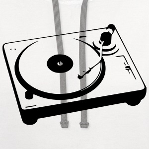 Turntable T-Shirts - Contrast Hoodie