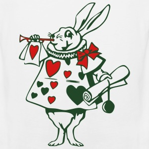 White Rabbit  T-Shirts - Men's Premium Tank