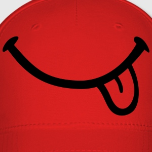 Smiley Tongue Kids' Shirts - Baseball Cap