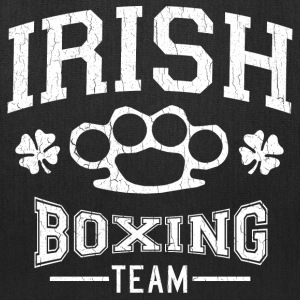 Vintage Irish Boxing Team (distressed design) - Tote Bag