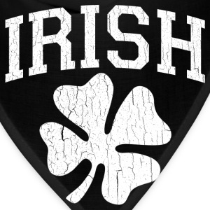 IRISH Shamrock (distressed design) - Bandana