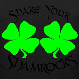 SHAKE YOUR SHAMROCKS Women's T-Shirts - Men's Premium Tank