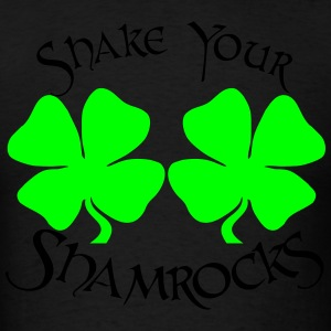 SHAKE YOUR SHAMROCKS Hoodies - Men's T-Shirt