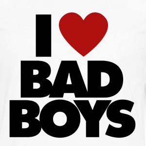 I Love BAD BOYS - Men's Premium Long Sleeve T-Shirt