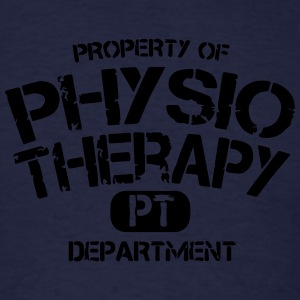Physical Therapy Department PT Long Sleeve Shirts - Men's T-Shirt