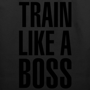 Train like a boss - Eco-Friendly Cotton Tote
