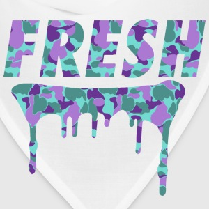 Fresh Drips Purple Camo Tee - Bandana