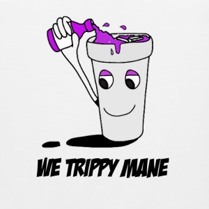 We trippy mane T-Shirts - Men's Premium Tank