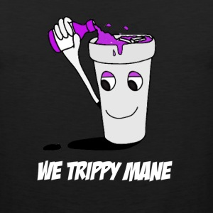 We trippy mane Hoodies - Men's Premium Tank
