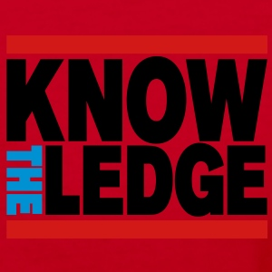 Know The Ledge - Women's V-Neck T-Shirt