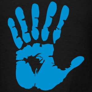 hand with six fingers Bags  - Men's T-Shirt