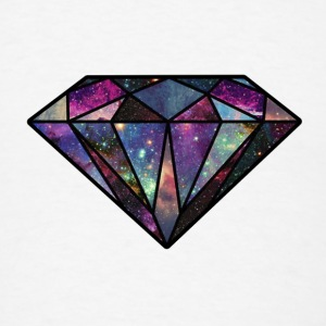 Diamond Universe Iphone 5 Hard Case - Men's T-Shirt
