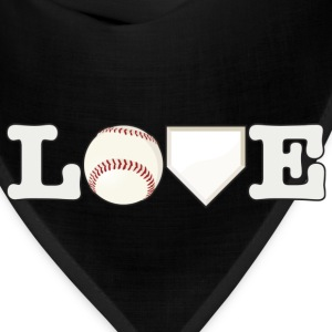 Love Baseball - Bandana