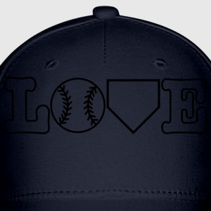 Baseball Love Women's T-Shirts - Baseball Cap