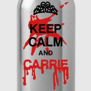Keep calm and Carrie Long Sleeve Shirts - Water Bottle