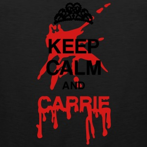 Keep calm and Carrie Long Sleeve Shirts - Men's Premium Tank