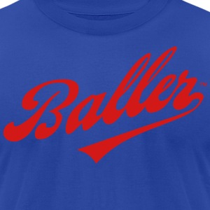 BALLER Hoodies - Men's T-Shirt by American Apparel