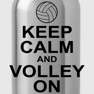 keep calm and volley on Hoodies - Water Bottle