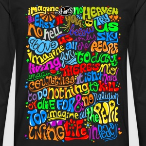 Imagine - Men's Premium Long Sleeve T-Shirt